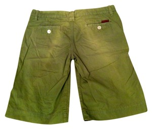 7 For All Mankind Shorts Green