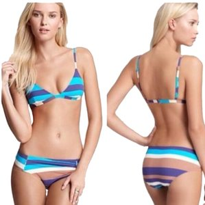 Marc by Marc Jacobs Marc by Marc Jacobs STRIPE Bikini Swimsuit set sz large