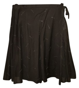 New York & Company Skirt Brown