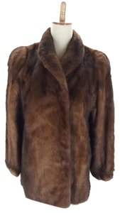 Moon Bat Fur Fur Fox Mink Fur Coat