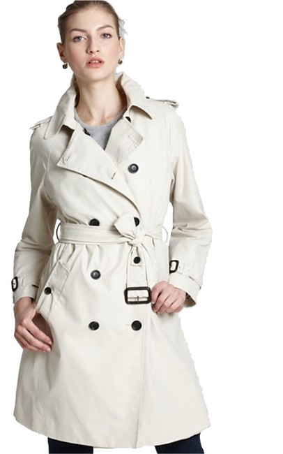 Item - Beige Classic Belted Trench Coat Size 14 (L)
