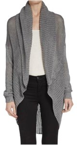 Vince Sweater Wrap Jacket Linen Cardigan