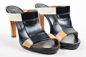 Dries van Noten Black Tan Multi-Color Sandals