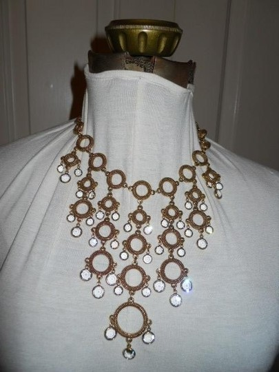 Other crystal detail statement necklace Image 1