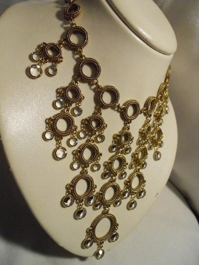 Other crystal detail statement necklace Image 2