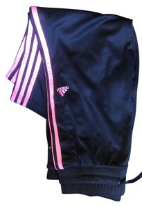 adidas Capris Black/Orange stripes