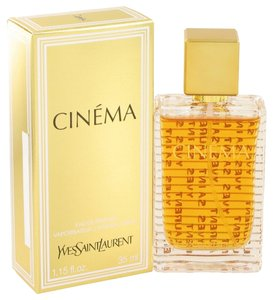 Saint Laurent CINEMA by YVES SAINT LAURENT ~ Women's Eau de Parfum Spray 1.15 oz