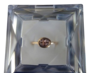 Hermès Hermes 18K Rose / Pink Gold , Amethyst Design Ring US Size 6 - 6.5