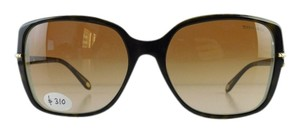 Tiffany & Co. New Tiffany & Co. Sunglasses TF 4101 8134/3B Havana Top Acetate Full-Frame Brown Gradient Lens 58mm Italy