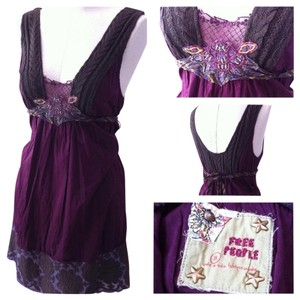 Free People short dress Purple, multi on Tradesy