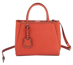 Fendi Tote in Orange Red
