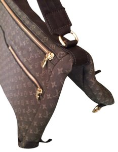 Louis Vuitton Diaper Laptop Crossbody Mini Lin Sac A Langer Khaki Mini Lin Tote