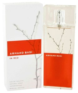 Armand Basi ARMAND BASI IN RED by ARMAND BASI ~ Women's Eau de Toilette Spray 3.4 oz