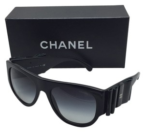 Chanel Chanel 5276-Q c. 501/S6 Black Bow Sunglasses