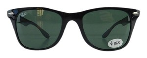 Ray-Ban New Ray-Ban Sunglasses RB 4195 601/71 Black Acetate Full-Frame Green Lens 52mm