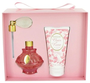 Berdoues CLAIR DE ROSE by BERDOUES ~ Gift Set -- 2.6 oz EDT Spray + 2.5 oz B...