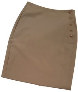 Espirit de Corp. Tan Summer Spring Small Size 1 Size 2 Skirt Beige