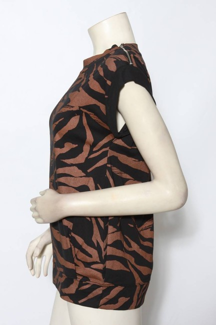 See by Chloé Top Copper and Black Image 2