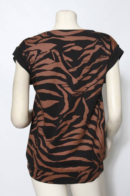 See by Chloé Top Copper and Black Image 3
