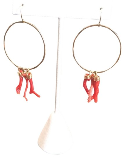 Preload https://img-static.tradesy.com/item/1223952/gold-hoops-with-red-coral-0-0-540-540.jpg