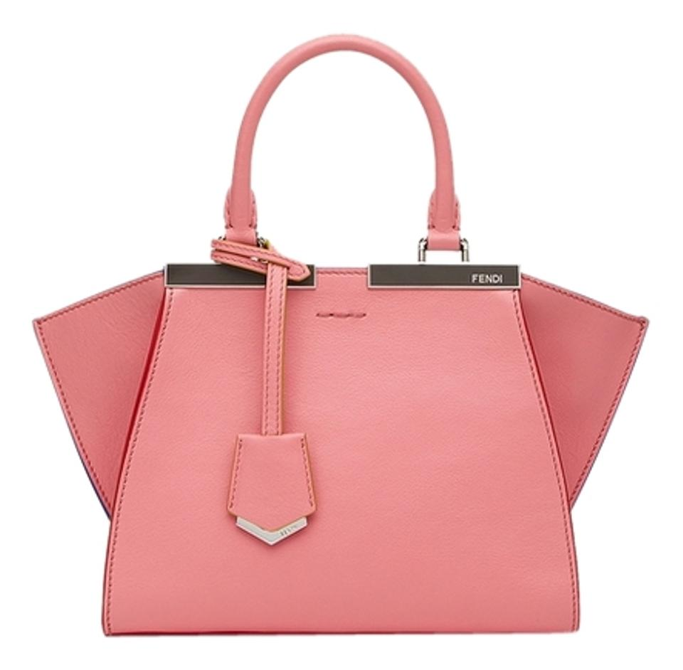 dfdedb2a18a Fendi Mini 3jours Pink Leather Tote - Tradesy