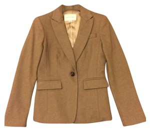 Banana Republic Petite Tan/Oatmeal Blazer