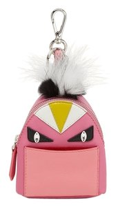 Fendi Micro Backpack Bag Bug Monster Key Chain Bag Charm