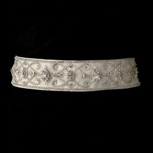 Bernadette Royal Swarovski Crystal Wedding Bridal Sash - Belt