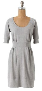 Anthropologie short dress gray Sweatshirt on Tradesy