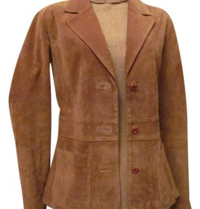 Maxima Wilson Wilson's Leather Maxima Genuine suede Leather Jacket Light Brown/Camel
