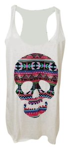 Other Neon Skull Top Multi