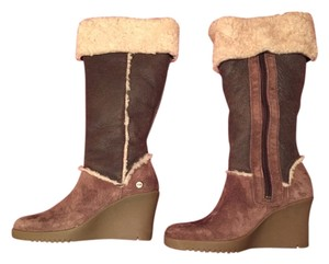 UGG Australia Two tone brown suede Boots