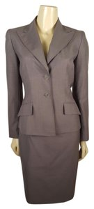 Anne Klein Anne Klein Suit professional gray skirt suit size 4