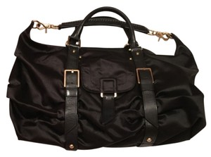 Botkier Satin Leather Buckle Chic Modern Hobo Bag