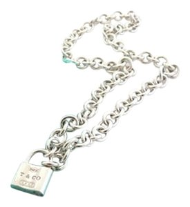 Tiffany & Co. Tiffany & Co Padlock Necklace
