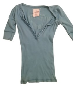 Hollister T Shirt Blue/Green