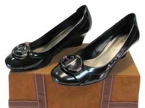 Kelly & Katie Size 7.00 M (usa) Very Good Condition BLACK Pumps