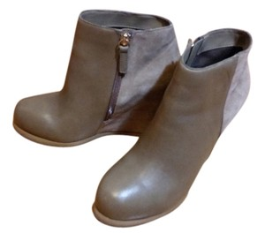 DV by Dolce Vita Suede Bootie Wedge Taupe Boots