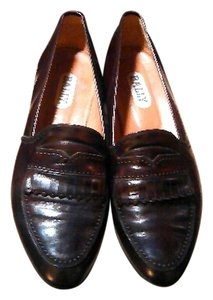 Bally Dress Leather Brown Flats