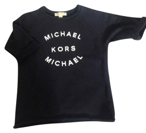 Michael Kors White Logo Short Sleeve Sweatshirt