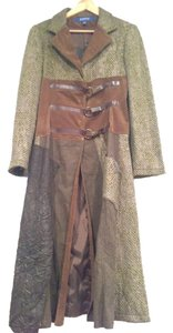 OHDD Patchwork Italian Shimmer Trench Coat