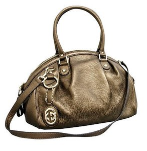Gucci Sukey Tote in Metallic Bronze
