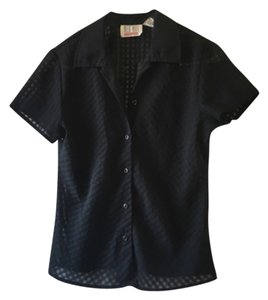 Other Button Down Shirt Blac