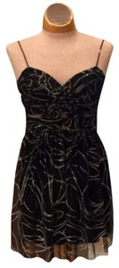 Hailey Logan Size 3/4 Spring Formal Semi Formal Sparkle Cut Out Adriana Papell Worn Once Perfect Condition Dress