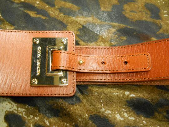 Michael Kors Michael,Kors,Brown,Tapered,,Belt,