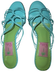 Lilly Pulitzer Aqua Sandals