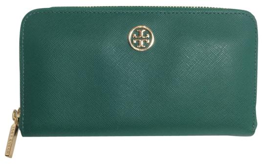 Tory Burch TORY BURCH ROBINSON ZIP CONTINENTAL WALLET
