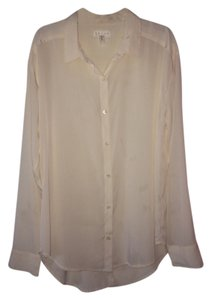 Leith Button Down Shirt Cream