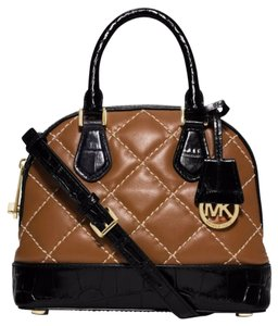 Michael Kors Mini Satchel Smythe Dome Cross Body Bag