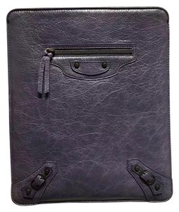 Balenciaga New Authentic Balenciaga iPad Purple Leather Case
